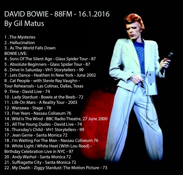 bowielive